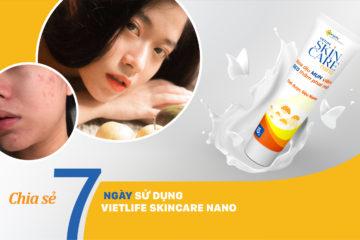 |Review| Cách trị mụn viêm được ngăn chặn, xẹp đi sau 7 ngày sử dụng Gel Mụn Sẹo Thâm ♡ Vietlife Skincare Nano ♡