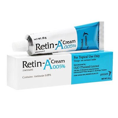 Kem trị mụn ẩn chứa Retinol/Tretinoin 1