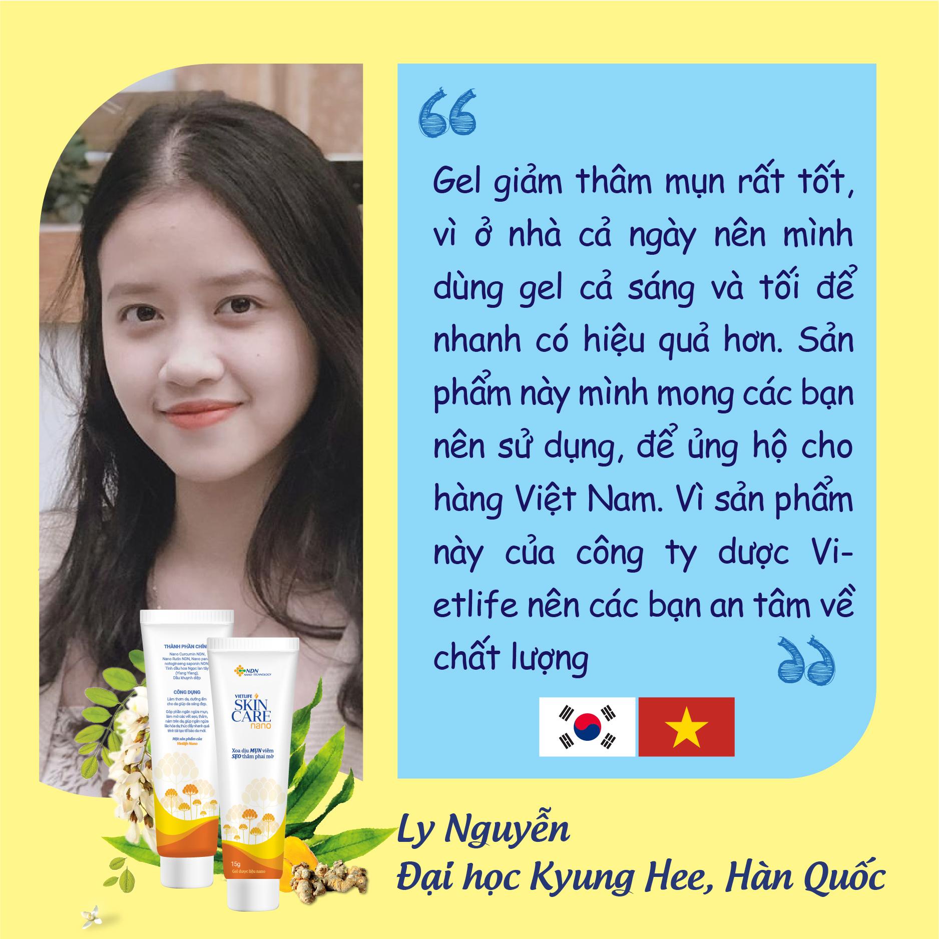Tự hào hàng Việt Nam chất lượng cao. Công nghệ Nano độc quyền 3