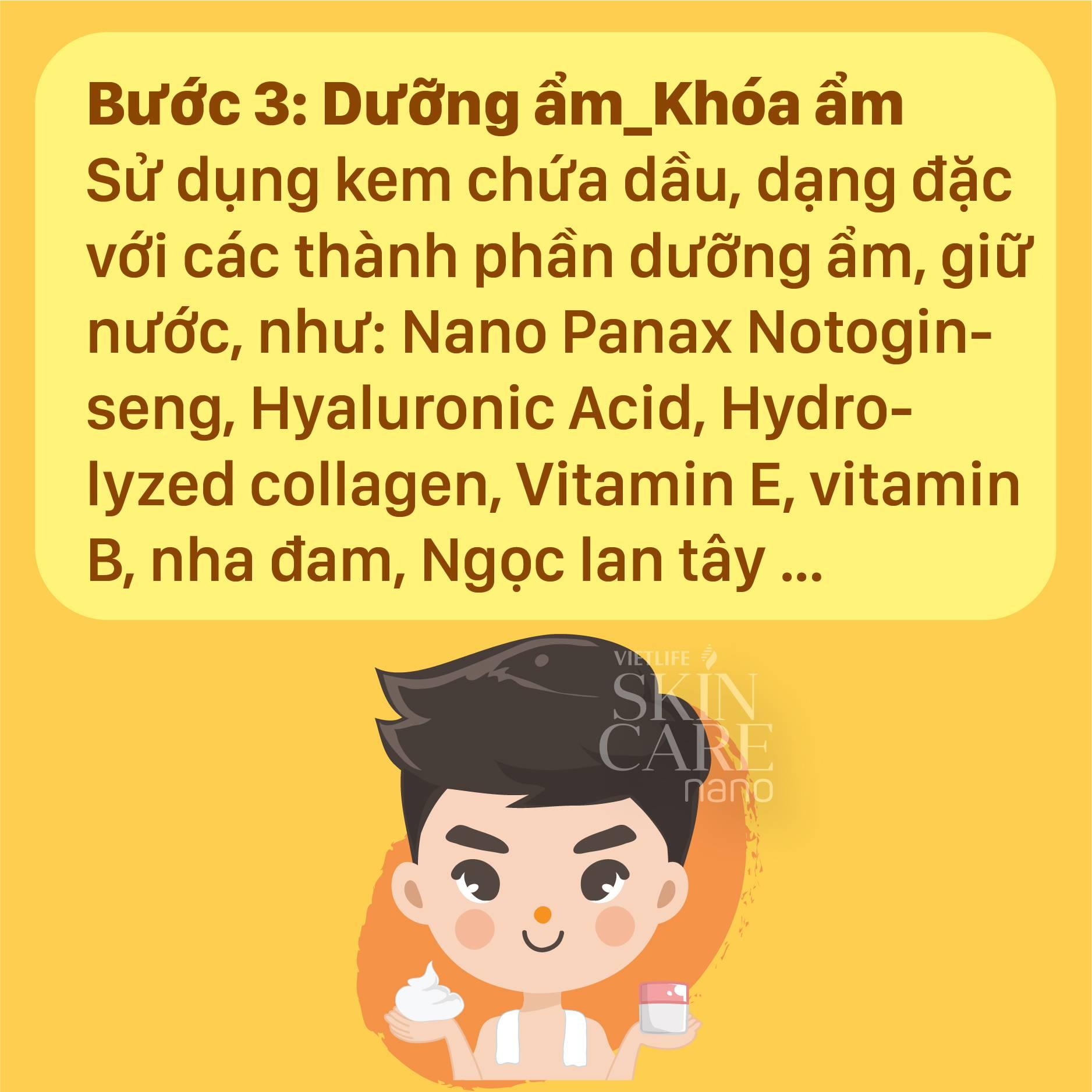 Da khô: các bước dưỡng da cần thiết vào mùa đông