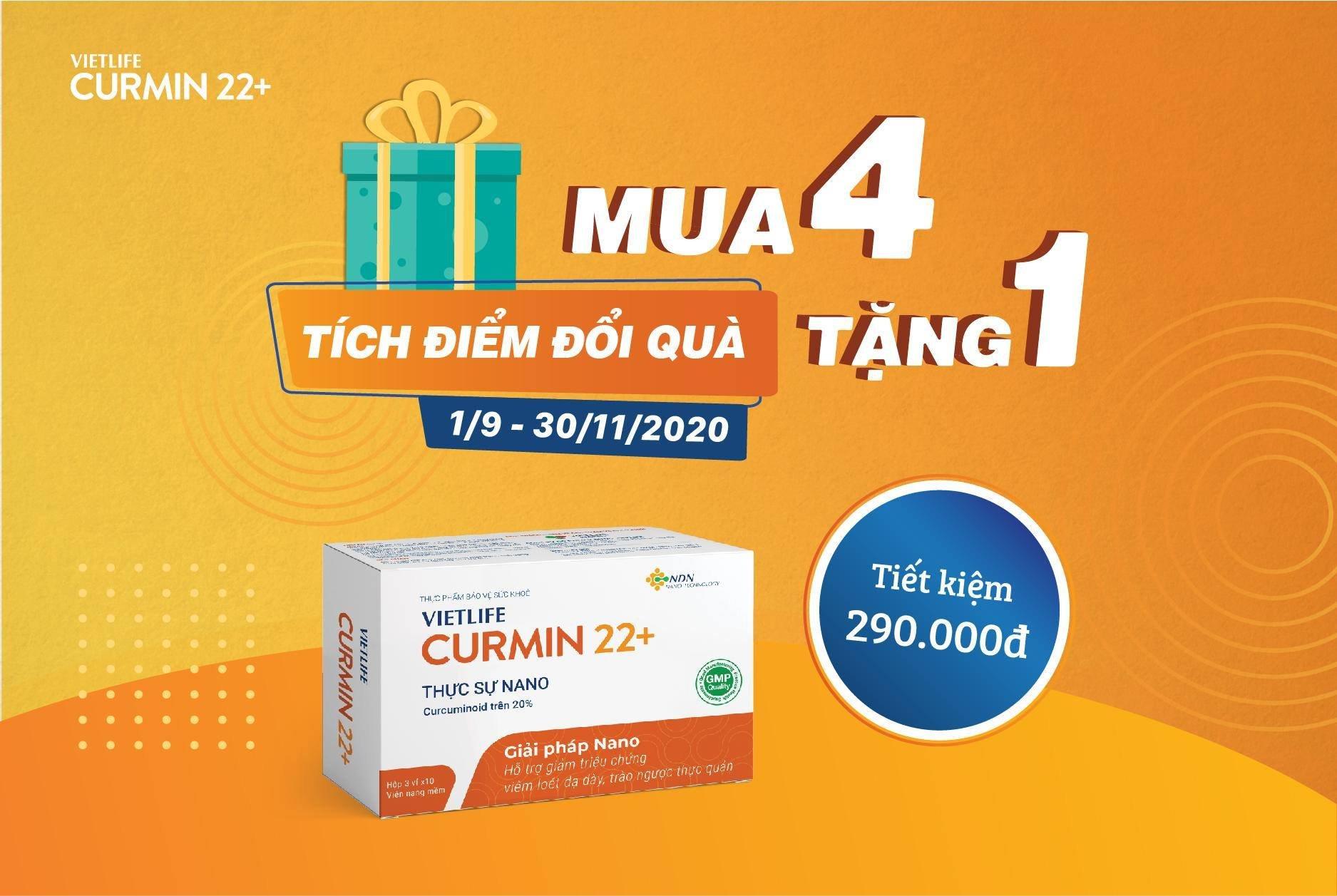 3. Curmin 22+: Lành loét hết đau - Dạ dày khỏe mạnh 1