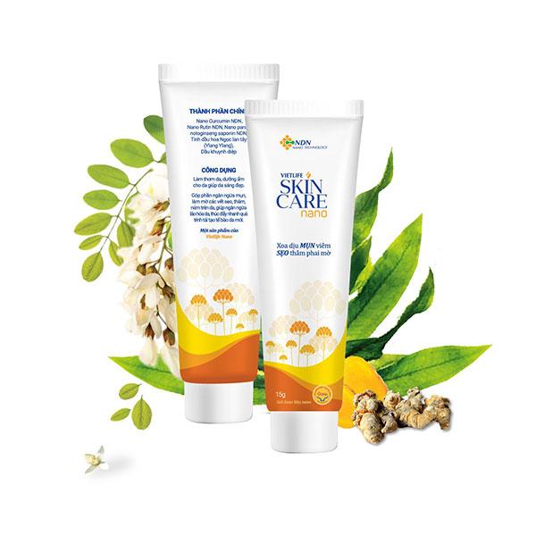 Skincare Nano - một trong các cách chữa sẹo lõm trên mặt hiệu quả 1